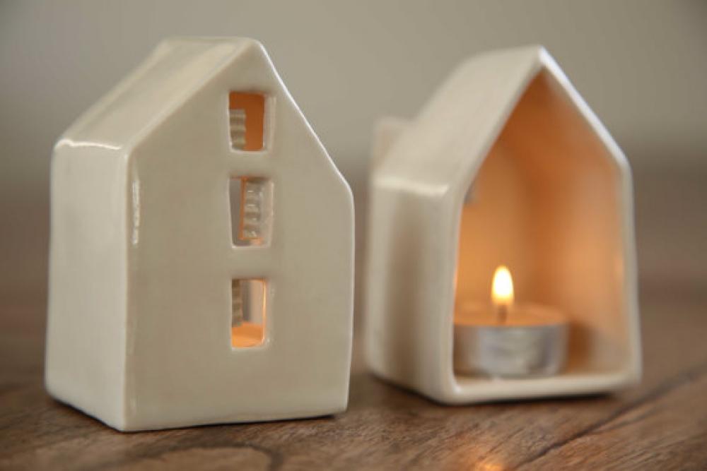 Свеча домик своими руками