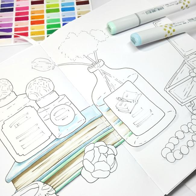 Как рисовать маркерами мастер класс